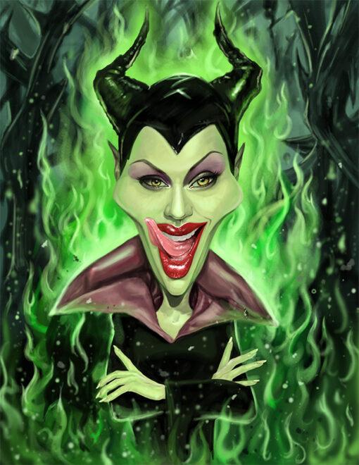 Malificent Angelina Jolie