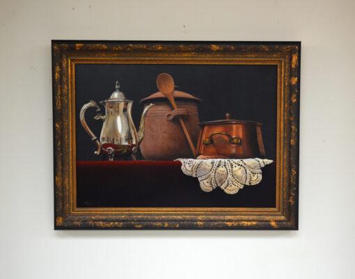 Still Life With Pot in room