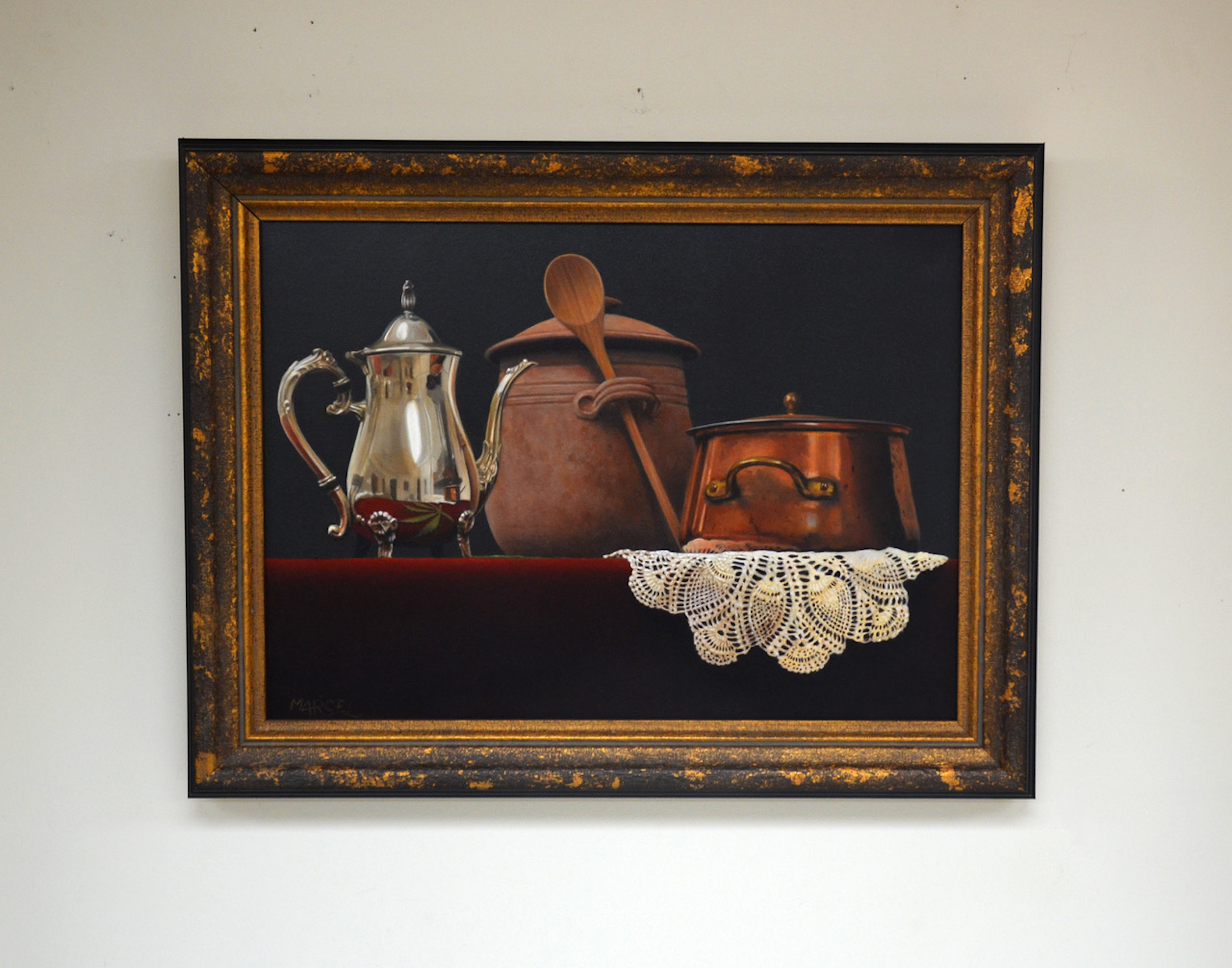 Still Life With Pot in room