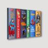 Comic Heroes Wall Angled