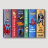 Comic Heroes Wall Straight