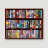 The Petty Girl Bookcase Wall Straight