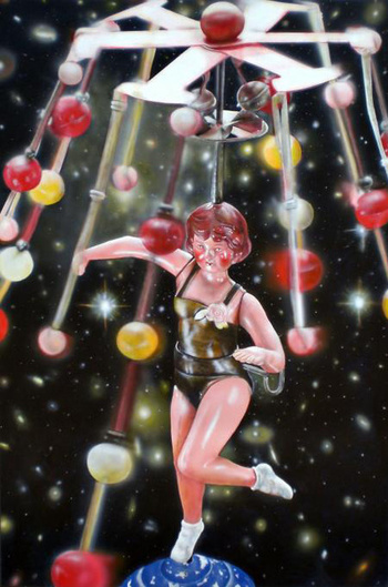 Cesar Santander Celestial Dancer