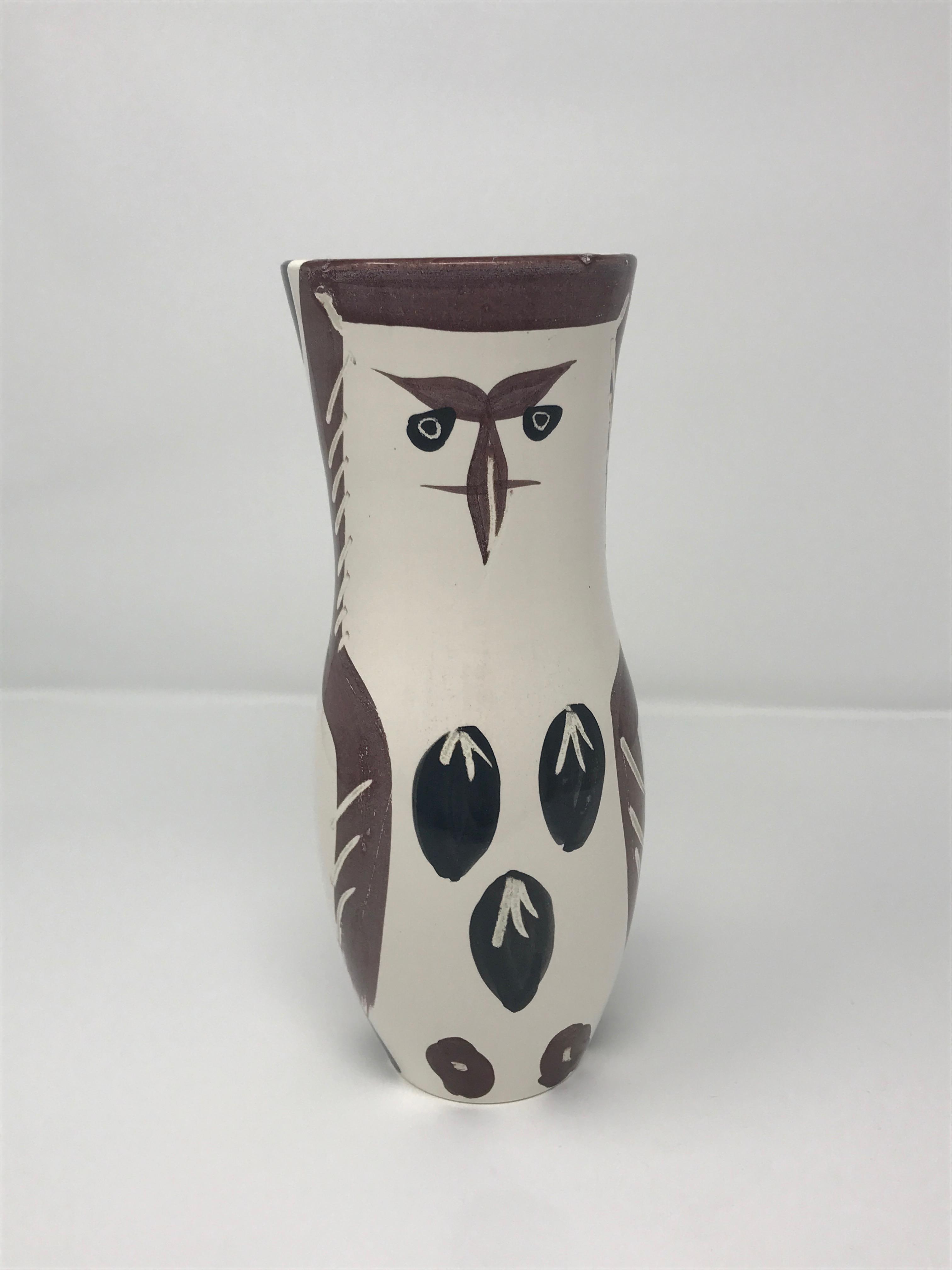 Picasso Madoura Ceramic Ramie 135 Chouetton Photorealism Artwork