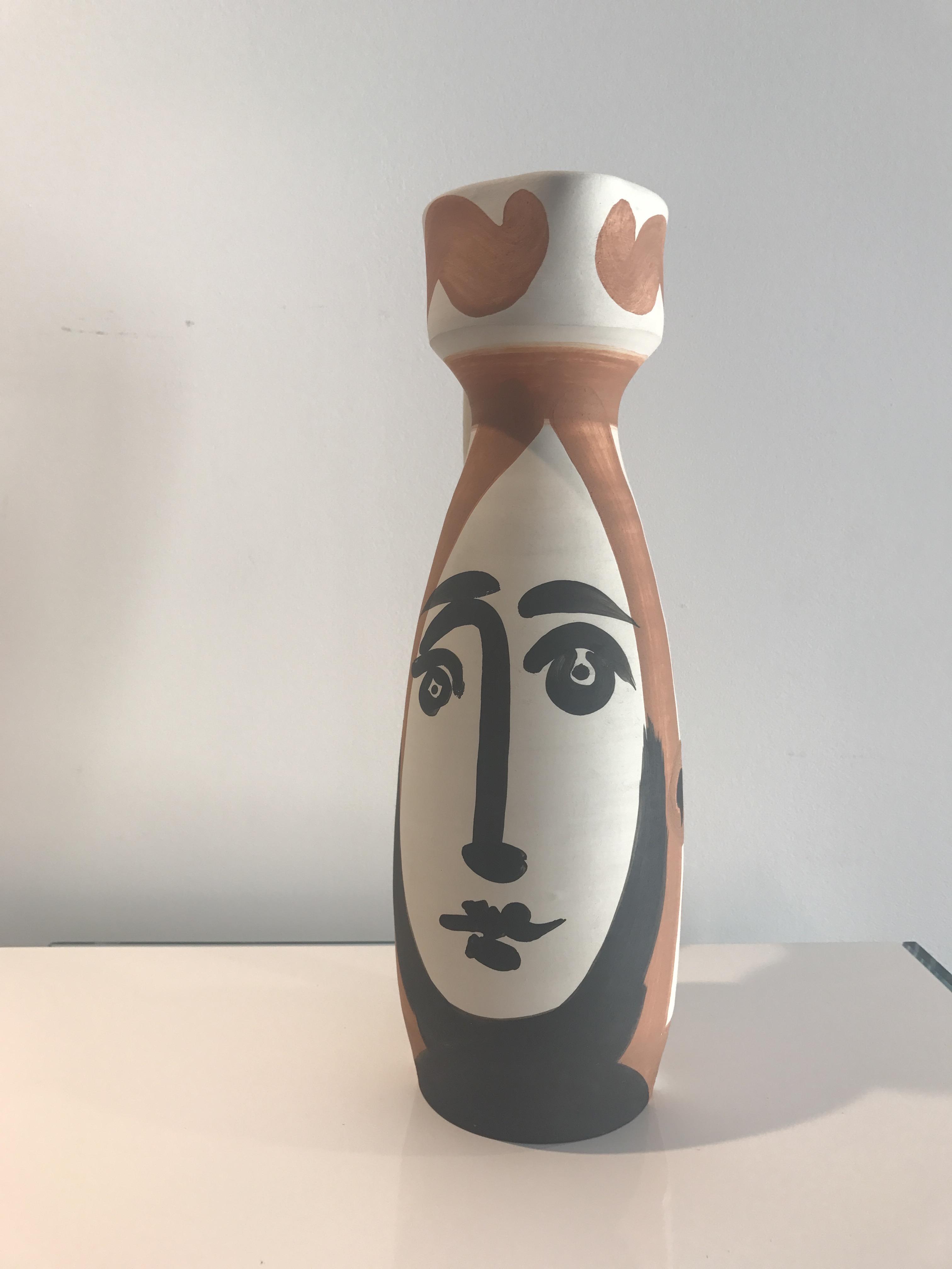 Picasso Madoura Ceramic Ramie 288 Visage