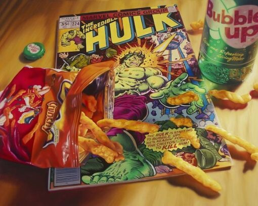 Bloodworth Cheetos Hulk