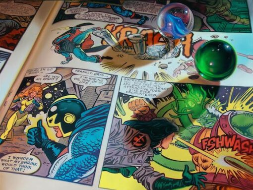 Bloodworth Marbles and Comics