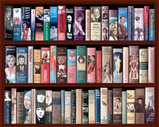 Art History Bookcase