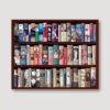 Art History Bookcase Wall Straight