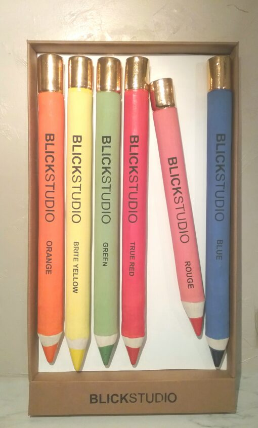 Six Blick Studio Pencils